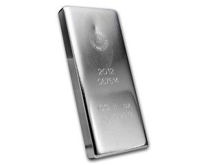 100 oz RCM Royal Canadian Mint Silver Bar