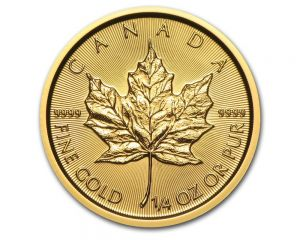 1/4 oz Maple Leaf Gold coin