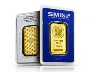 1 oz assorted Mint Gold Wafer Bar