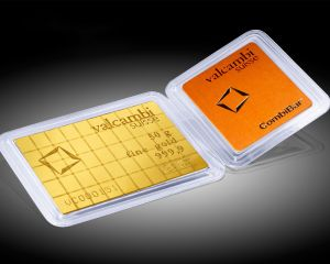 50 g (50 x 1 g) Valcambi Gold CombiBar