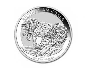1/2 oz Australian Koala Silver Coin