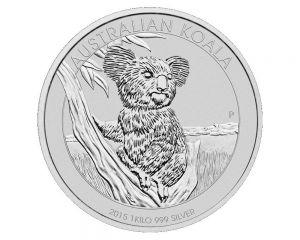 1 kg Australian Koala Silver Coin