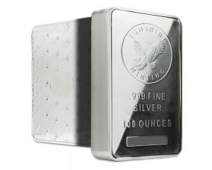 100 oz assorted silver bar