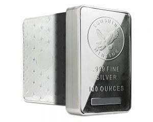 100 oz assorted silver bar