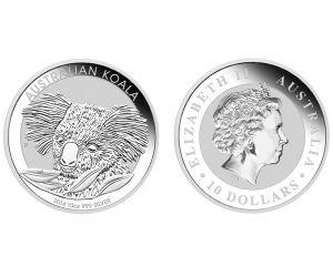 10 oz Australian Koala Silver Coin