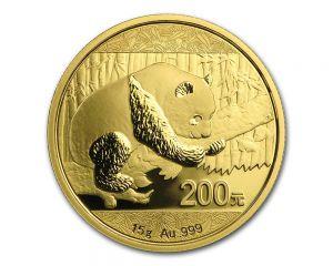 15 g Chinese Panda Gold Coin