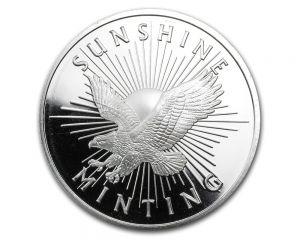 1/2 oz Sunshine Mint Silver Round