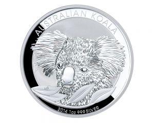 1 oz  Australian Koala Silver Coin