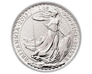 1 oz Britannia Silver Coin