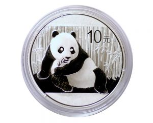 1 oz Chinese Panda Silver Coin