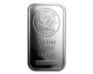1 oz assorted Mint Silver Wafer Bar