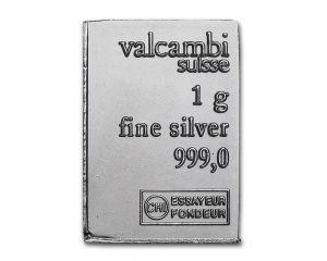 1 g Valcambi Silver CombiBar Piece