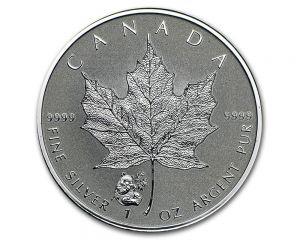 2016 Canada 1 oz Silver Maple Leaf Panda Privy Coin